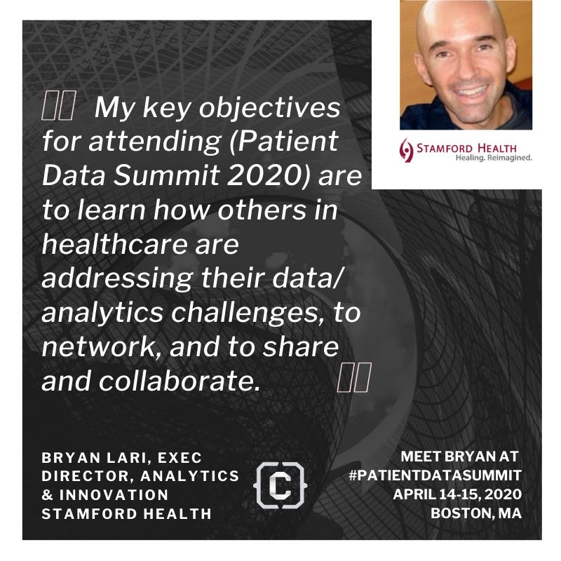 Patient Data Summit - Stamford Health
